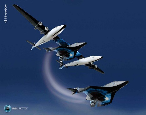 Virgin Galactic Space Flights