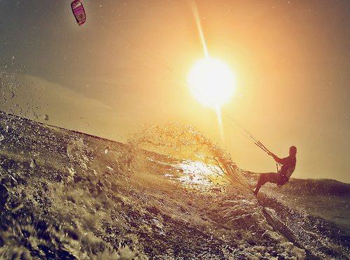 Silver Coast - Kitesurfing