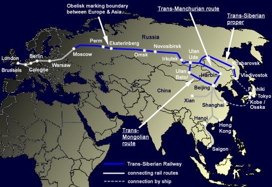 Trans Siberian Railroad