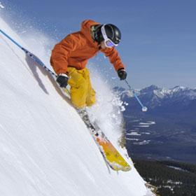 Winter Sports in Alberta - Skiing